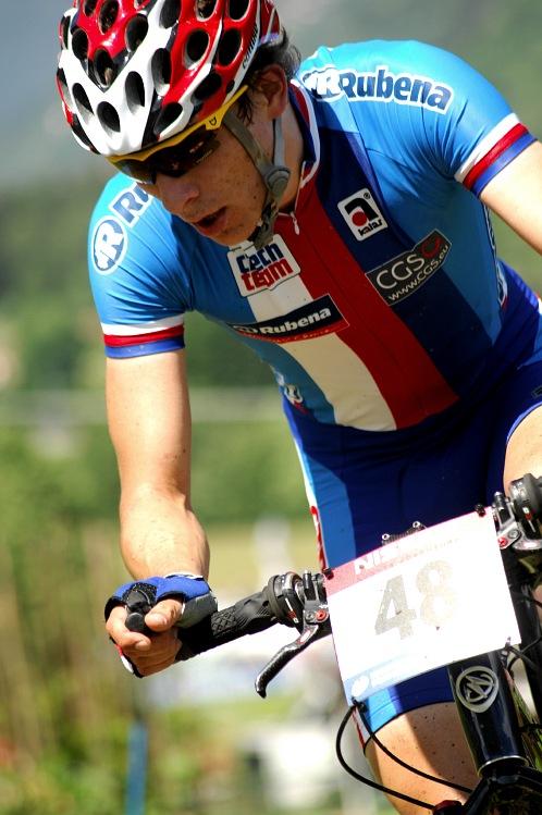 MS MTB 08 Val di Sole - XC junioři: Filip Adel ve druhém kole