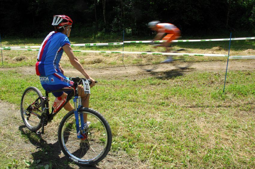 MS MTB 08 Val di Sole - XC junioři: Jarda Kulhavý se stavil podívat