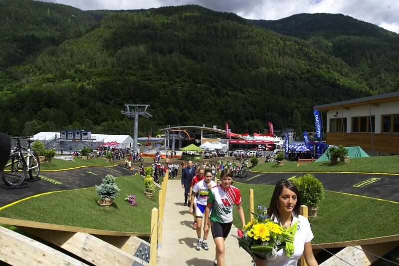 UCI MTB World Championship 2008 - Val di Sole/ITA - 18.6. - cesta k duhovému trikotu
