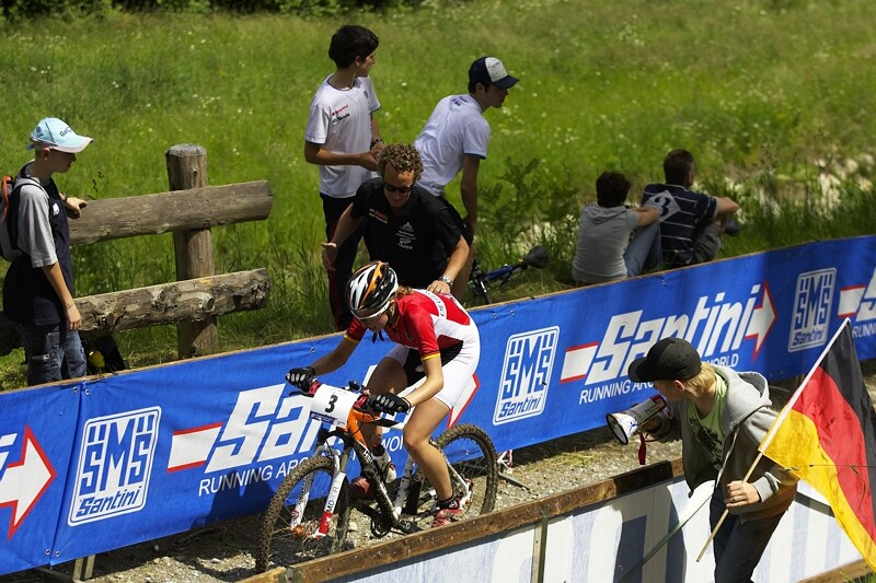UCI MTB World Championship 2008 - Val di Sole/ITA - 18.6. -Eiberweiser a její fandové