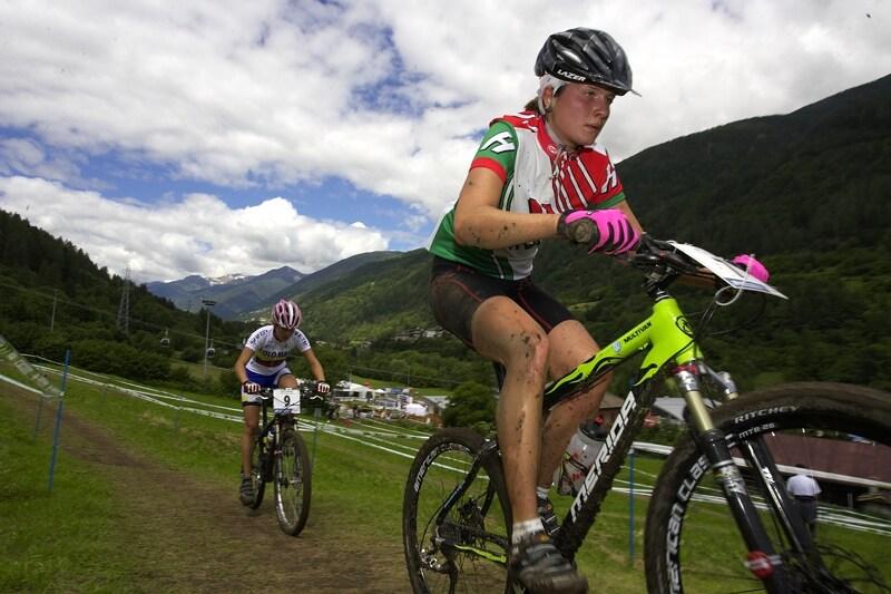 UCI MTB World Championship 2008 - Val di Sole/ITA - 18.6. - Maďarka Benko zprvu vedla