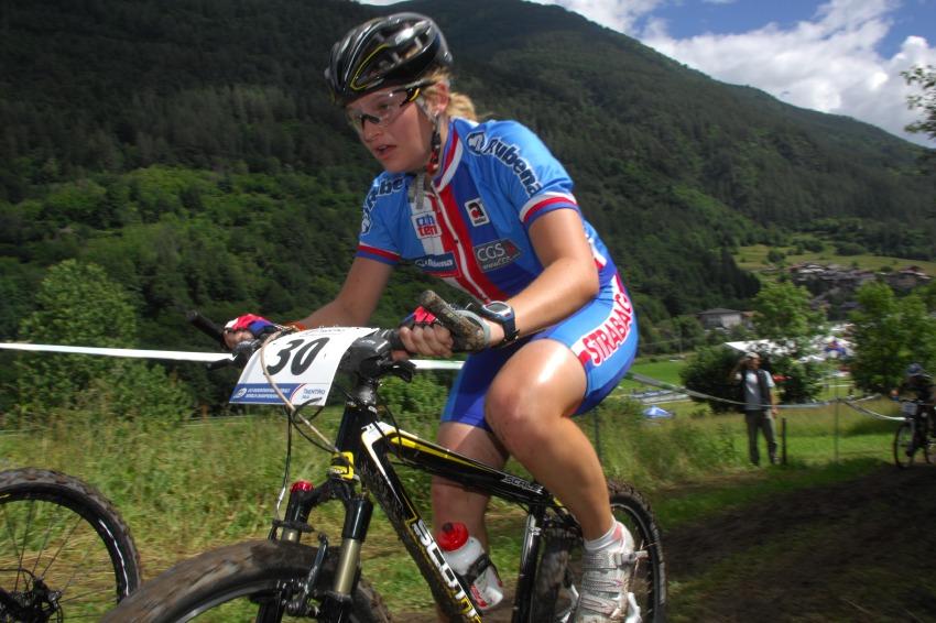 MS MTB 2008 Val di Sole: XC juniorky - Mark�ta Sl�dkov�