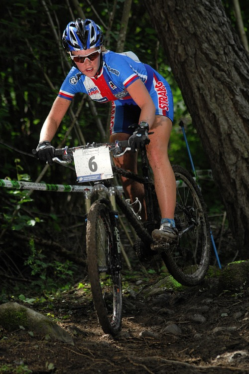 MS MTB 2008 Val di Sole: XC juniorky - Jana Vale�ov�