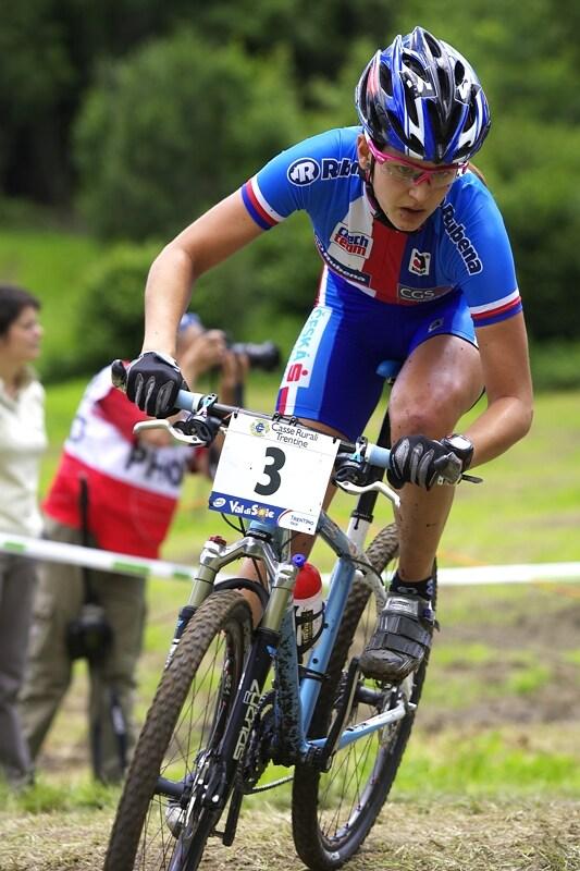 UCI MTB World Championship 2008 - Val di Sole/ITA - 18.6. - Tereza Huříková