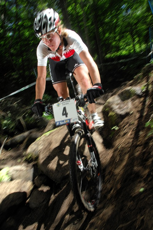 MS MTB 2008 Val di Sole - �eny U23: Nathalie Schneitter