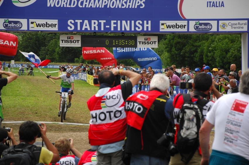 MS MTB 2008 Val di Sole - ženy U23: Tanja Žakelj mistryní světa