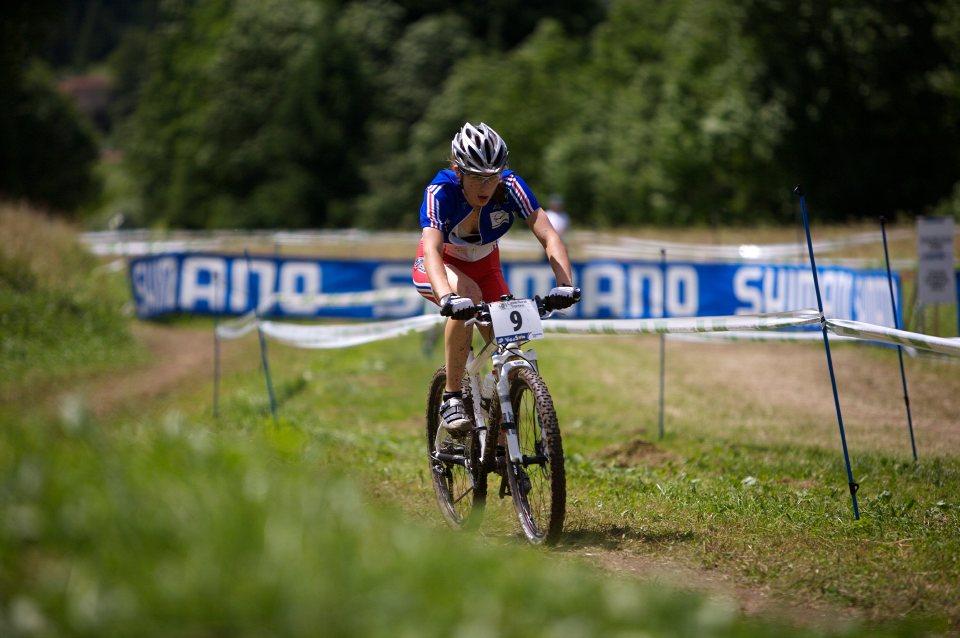 MS 2008 Val di sole ženy do 23 Julie Krasniak