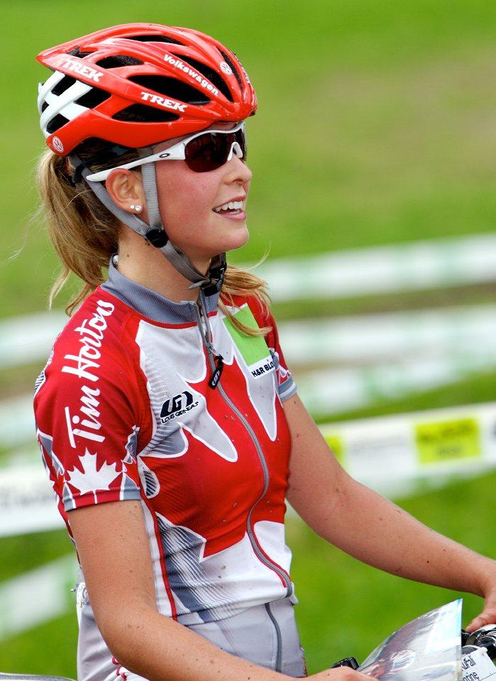 MS 2008 Val di sole ženy do 23 Emilly Batty