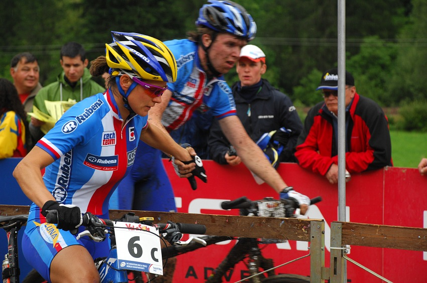 MS MTB 2008, Val di Sole - štafety