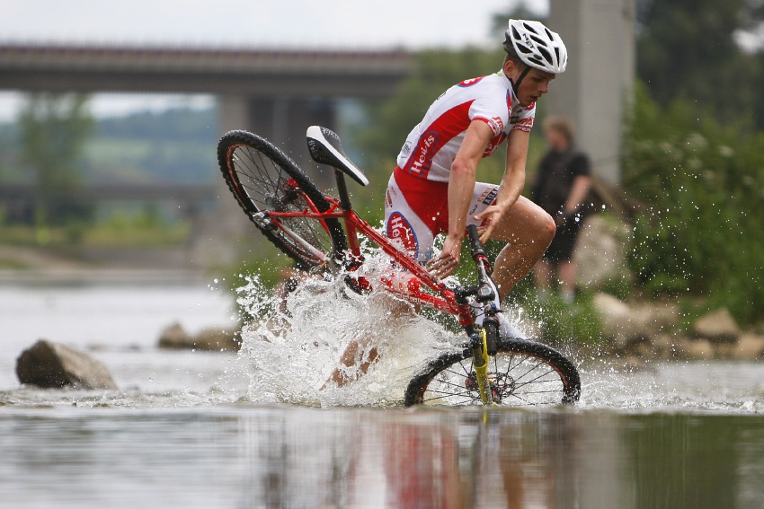 Giant Berounský BikeMaraton 2008: Václav Aška poprvé