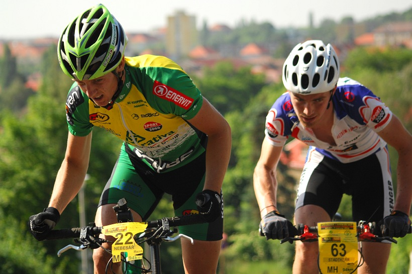 ČP XCM #3 2008 - Specialized Extrém Bike Most: Mario Nebesář a Jarda Stadtherr