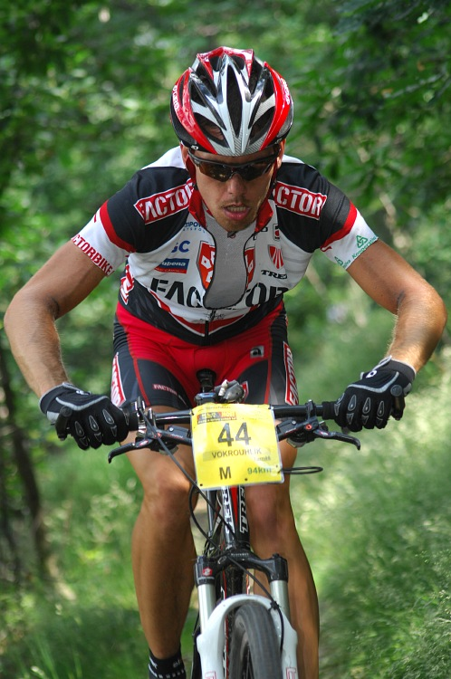 ČP XCM #3 2008 - Specialized Extrém Bike Most: Tomáš Vokrouhlík útočí