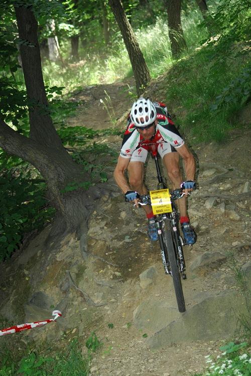 ČP XCM #3 2008 - Specialized Extrém Bike Most: Karel Hurdálek na pevné vidli