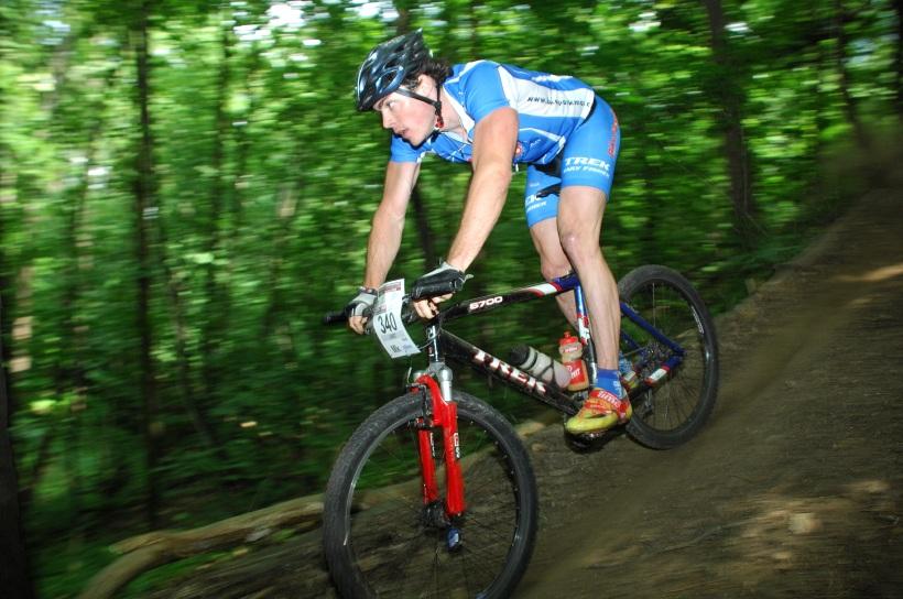 ČP XCM #3 2008 - Specialized Extrém Bike Most: vítěz krátké Pavel Linet