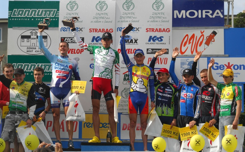 �P XCM #3 2008 - Specialized Extr�m Bike Most: 1.Vokrouhl�k, 2.Trunschka, 3.Zelen�