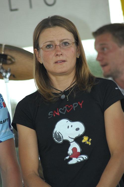 Author Král Šumavy 2008 - vítězka dlouhé trati Eva Hašková