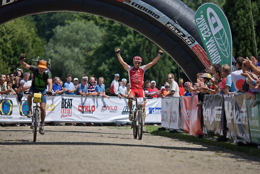 Kolo pro život - DRÁSAL - 5.7. 2008, Holešov - Fojtík vítězí, foto: Miloš Lubas