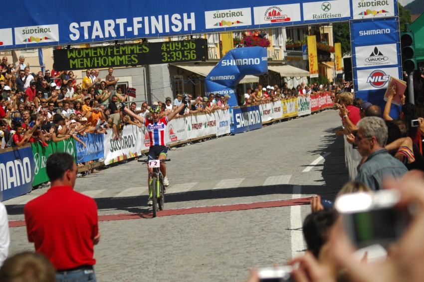 MS Maraton 2008 - Villabassa /ITA/ - Gunn Rita Dahle mistryní světa