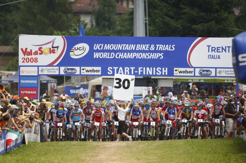 MS MTB Val di Sole '08 - XC Elite: 30 vteřin do startu