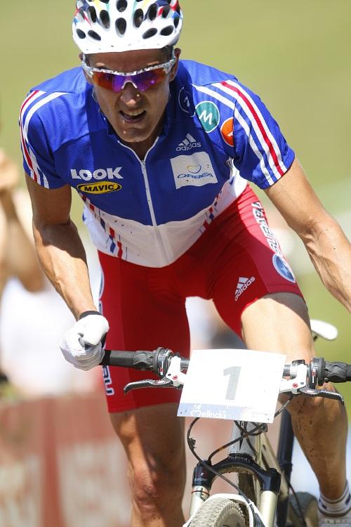 MS MTB Val di Sole '08 - XC Elite: Absalon bojující o třetí místo
