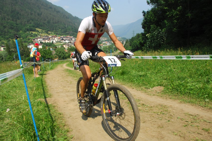 MS MTB Val di Sole '08 - XC Elite: Ralph Naef se famózně probojoval k bronzu
