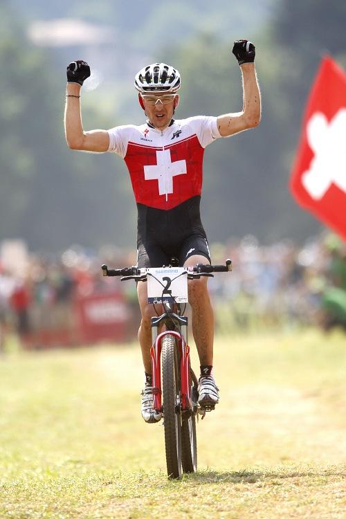 MS MTB Val di Sole '08 - XC Elite: Christoph Sauser!