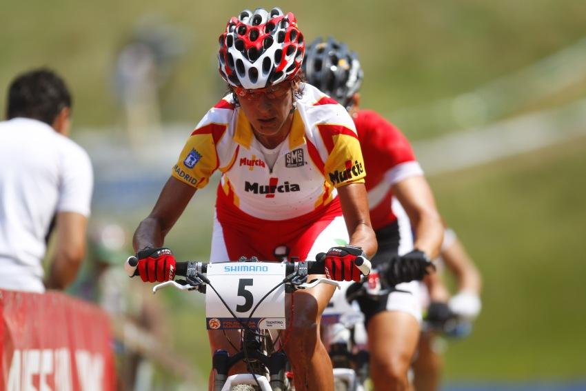 MS MTB 2008 Val di Sole - XC ženy: Fullana na špici