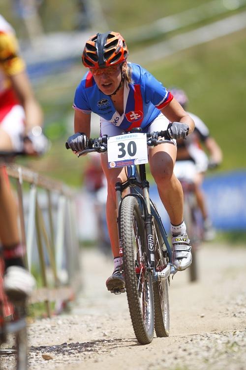 MS MTB 2008 Val di Sole - XC ženy: Janka Števková