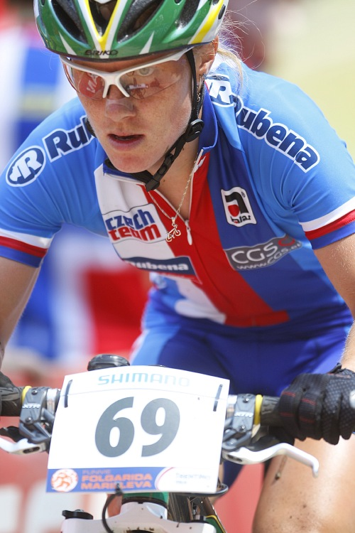 MS MTB 2008 Val di Sole - XC ženy: Pavla Havlíková