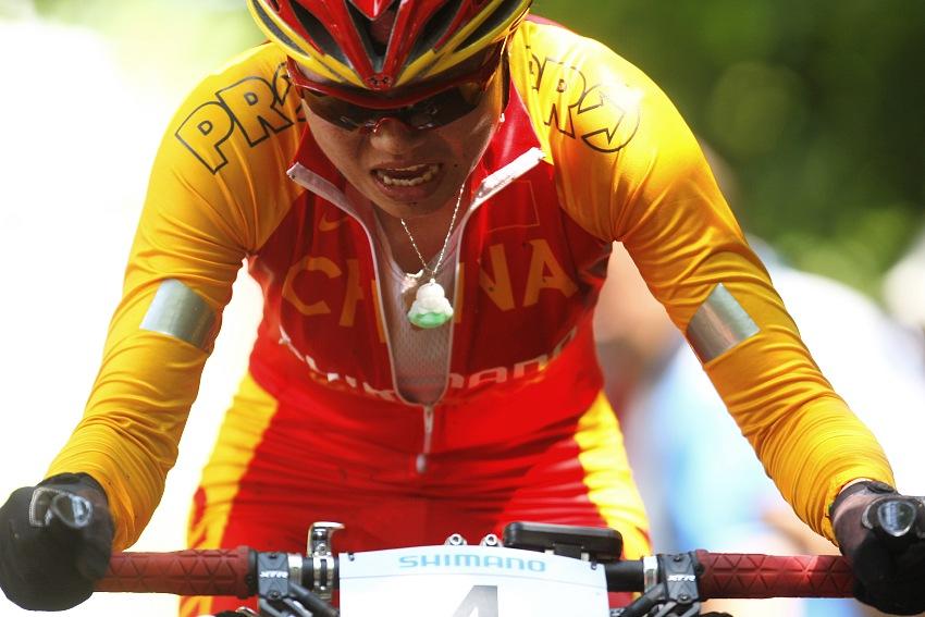 MS MTB 2008 Val di Sole - XC ženy: ani zázračný amulet nepomohl...