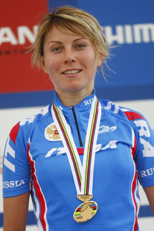 MS MTB 2008 Val di Sole - XC ženy: Irina Kalentieva