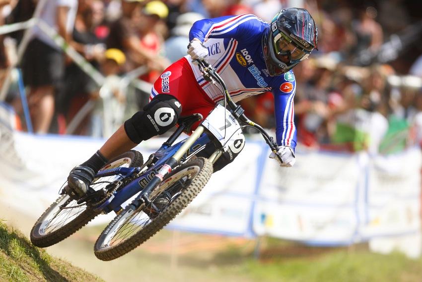 MS MTB 2008 Val di Sole /ITA/ - Downhill: Julien Camellini
