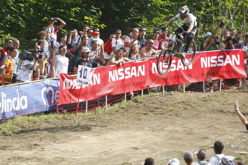 MS MTB 2008 Val di Sole /ITA/ - Downhill: Sam Hill