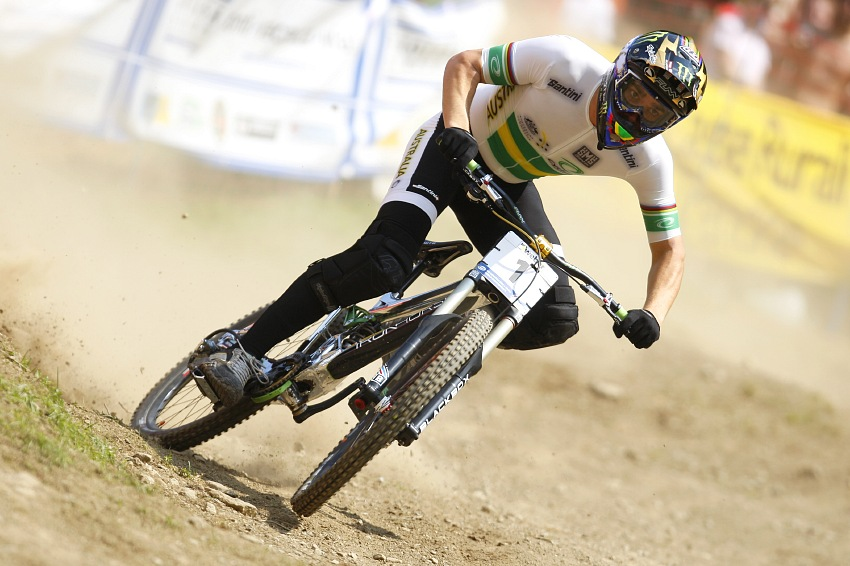 MS MTB 2008 Val di Sole /ITA/ - Downhill: Sam Hill