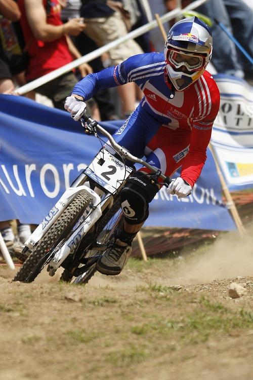 MS MTB 2008 Val di Sole /ITA/ - Downhill: Gee Atherton