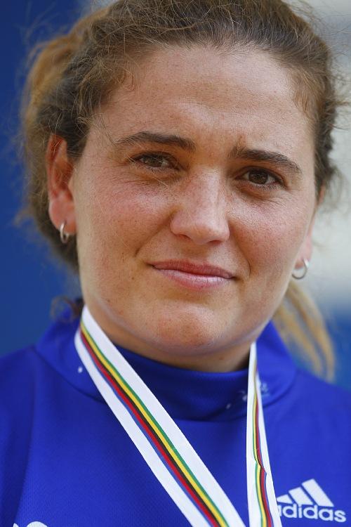 MS MTB 2008 Val di Sole /ITA/ - Downhill: Sabrina Jonier