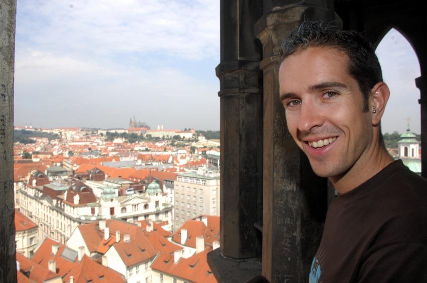 Pražské schody 2008: Cedric Ravanel