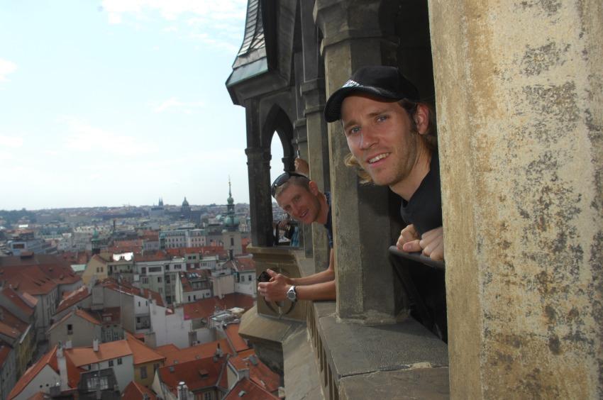Pražské schody 2008: Fredrik Kessiakoff a Roel Paulissen