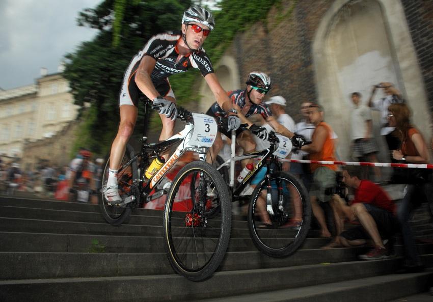 Pražské schody 2008: Roel Paulissen a Florian Vogel