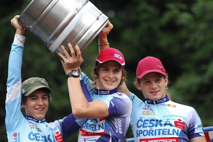 XI. BELL Šumavský maraton '08: Radost z oblíbené ceny v podání mládežníků ČS MTB