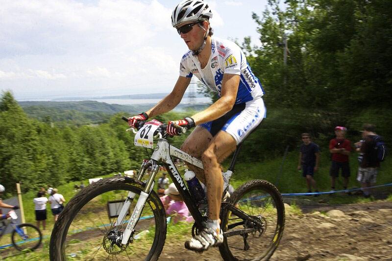 Nissan UCI MTB World Cup XC#6 - Mont St. Anne 27.7. 2008 - Jan Škarnitzl