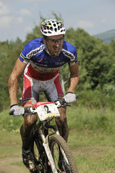 Nissan UCI MTB World Cup XC#6 - Mont St. Anne 27.7. 2008 - Julien Absalon, foto: Marek Lazarski