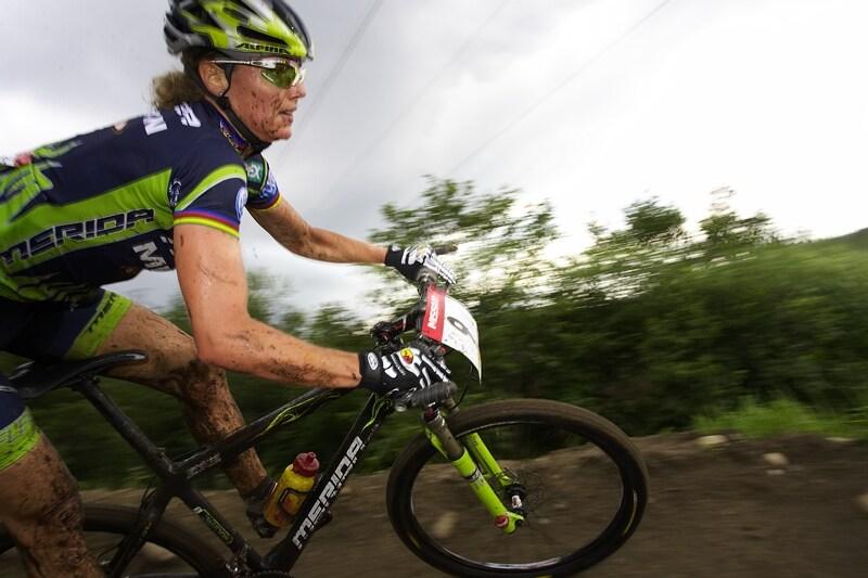 Nissan UCI MTB World Cup XC#6 - Mont St. Anne 27.7. 2008 - Gunn Rita Dahle