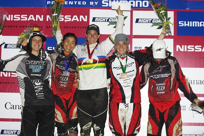 Nissan UCI MTB World Cup 4X#4 - Mont St. Anne, 26.7. 2008 - 1. Buhl, 2. Suemasa, 3. Griffith, 4. Beerten, 5. Molcik