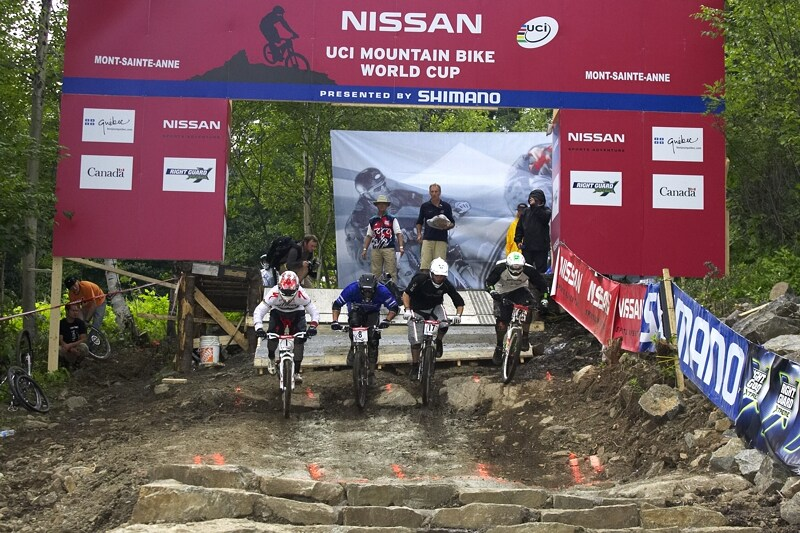 Nissan UCI MTB World Cup 4X#4 - Mont St. Anne, 26.7. 2008