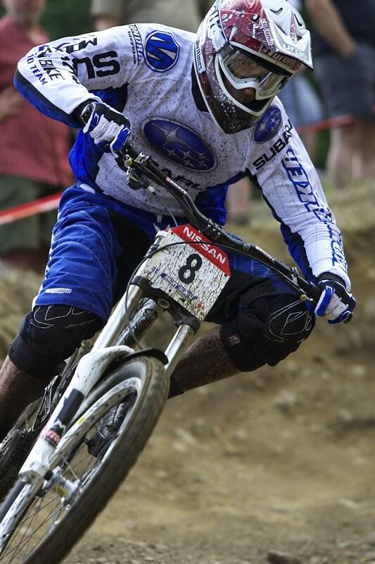 Nissan UCI MTB World Cup DH #4 - Mont St. Anne 26.7. 2008 - Fabien Barel