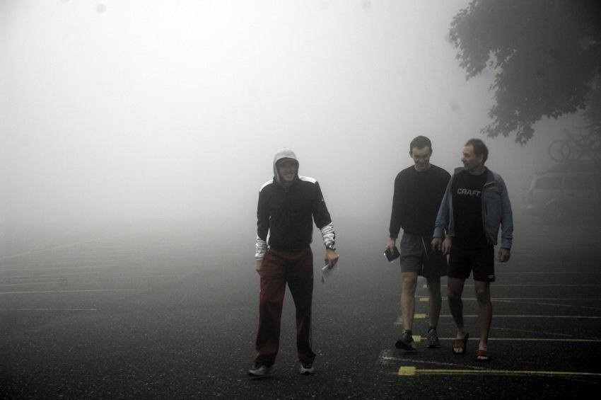 MČR Maraton 2008 - Kelly's Beskyd Tour: ranní mlha