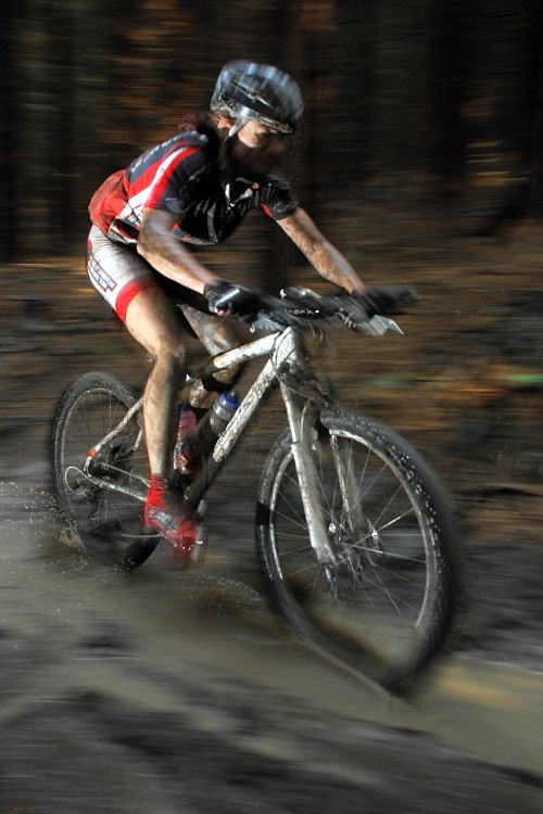 M�R Maraton 2008 - Kelly's Beskyd Tour: Alena Krn��ov� 3km p�ed c�lem druh�