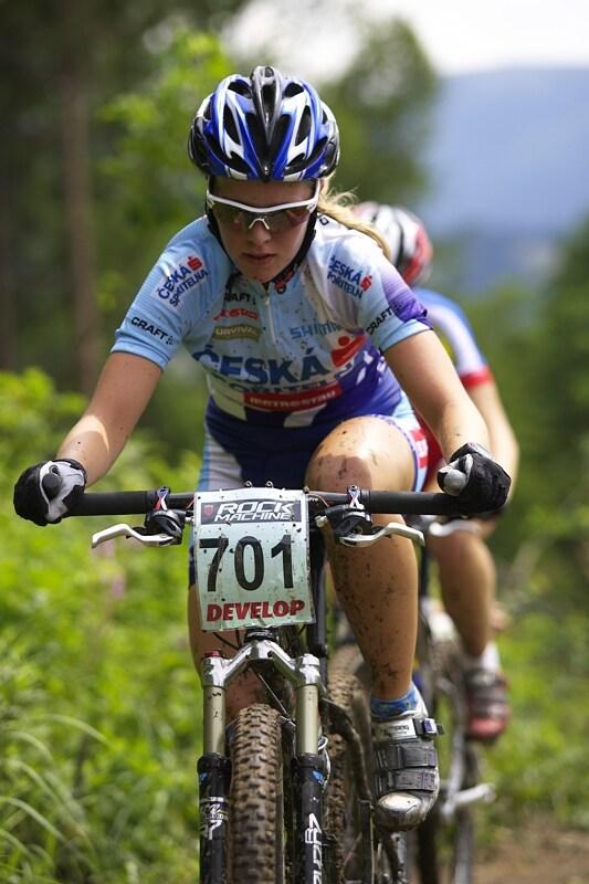Mistrovství ČR XC - Velké Losiny 12.-13.7. 2008 - Jana Valešová