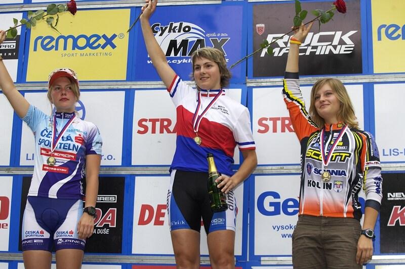 Mistrovství ČR XC - Velké Losiny 12.-13.7. 2008 - juniorky
